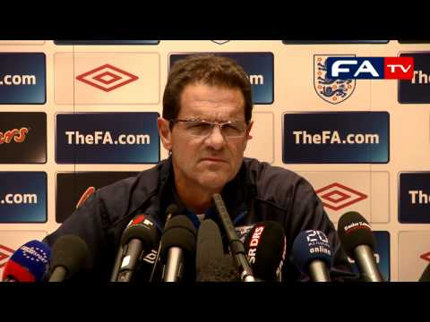 Switzerland v England - Fabio Capello - England Press Conference 06/09/10