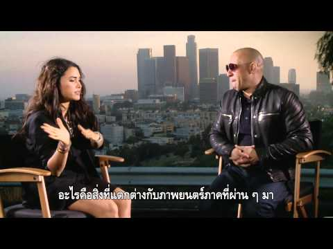 Vin Diesel Thailand Interview : Fast & Furious 7