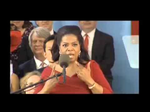 Oprah Winfrey Harvard University Commencement Speech 5/30/2013 | Part 1