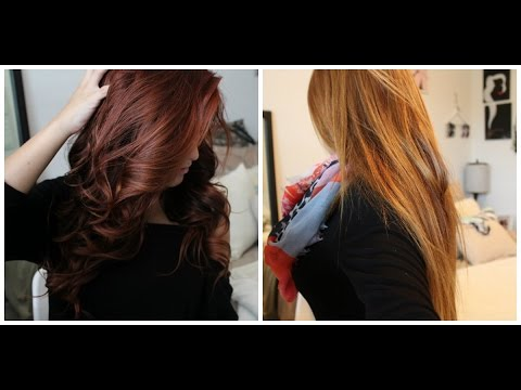 From Red to Light Brown/Blonde WITHOUT bleach! Color Oops step-by-step