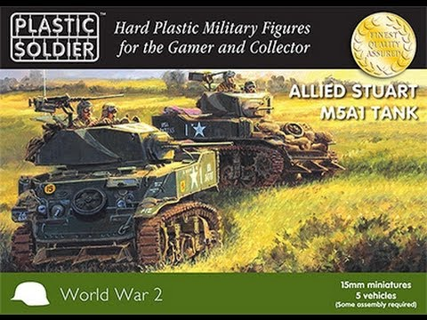 Review: Plastic Soldier Co. 15mm M5 Stuart Tank