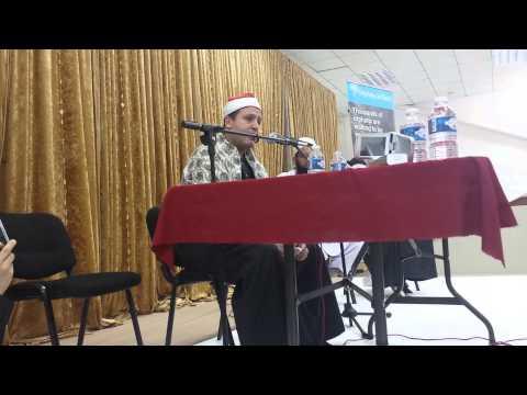 Qari Hajjaj Ramadan Al Hindawi  3d Centre Bolton video