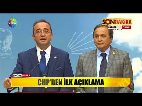 CHP'den ilk açıklama