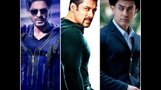 Shahrukh Salman Aamir  in One Movie 2016 (3 Khan)