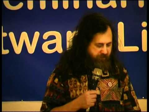 Conferencia sobre software libre de Richard Stallman I