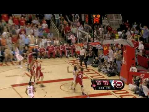 Yao Ming block on Lebron James!!!! [HD]