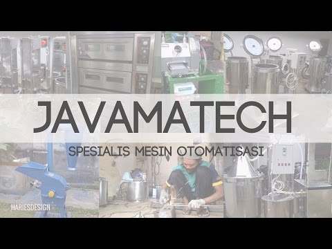 JAVAMATECH spesialis pembuatan mesin otomatisasi