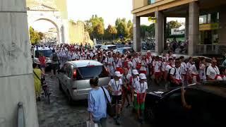 Cerimonia di apertura Trofeo Kinder CONI 2018 2