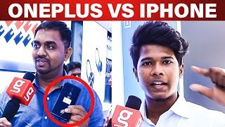iPhone-லாம் சும்மா Scene! OnePlus 7 vs Iphone - Which is Best? Public Review