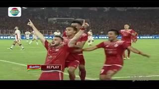Persija (3) vs Bali United (0) - Highlight Goal dan Peluang Final Piala Presiden 2018