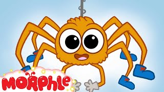♪ Itsy Bitsy Spider Song ♪ Nursery songs for children - Morphle