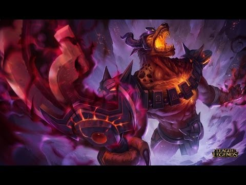 League of Legends - Partida Completa Nasus (Português - BR)