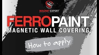 How to Apply FerroPaint®