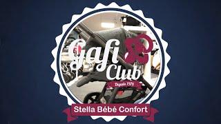 Premier contact poussette Stella et sa nacelle Oria de Bébé Confort