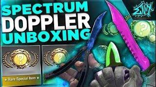 Top 5 - RAREST DOPPLER SPECTRUM KNIVES EVER!!   CS:GO