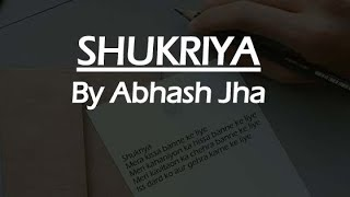 SHUKRIYA | Rhyme attacks poetry