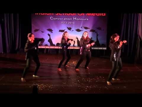 BOLLYWOOD REMIX DANCE by students of INDIAN SCHOOL OF MEDIA