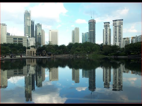 Visiting KLCC Park, Park in Kuala Lumpur, Malaysia