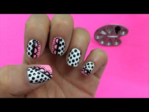 Decoracion de uñas Romántico -  Paso a Paso fácil de Nail Art y Manicure