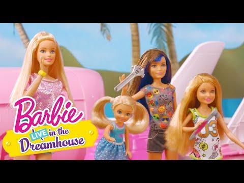 SÅDAN SKAL MAN FLYVE | Barbie LIVE! In The Dreamhouse  | Barbie