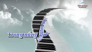 |Karaoke HD | Ước Mơ - Nhạc Hoa || Âm Nhạc Lớp 5