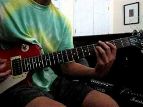 Avenged Sevenfold- Victim Guitar Cover