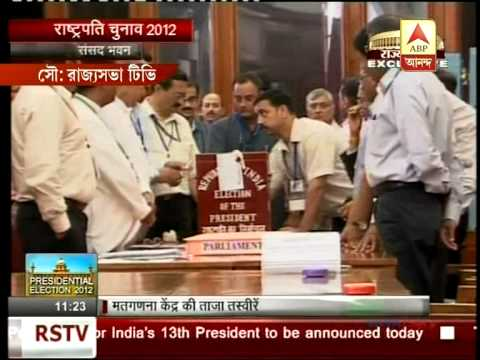 President Poll - Vote counting begins