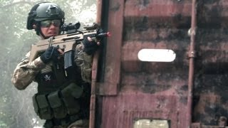 Airsoft War - Hamburger Hill, ft SCAR-L