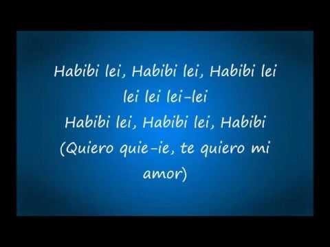 Habibi (I need your love) - lyrics