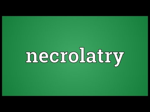 Header of necrolatry