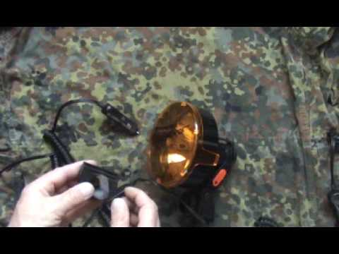RABBIT SHOOTING LIGHTFORCE 140 170 LAMP WITH DIMMER REVIEW FOR LAMPING RABBITS