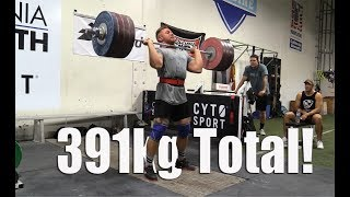 Wes Kitts Monster Total! 391kgs (Unofficial American Record)