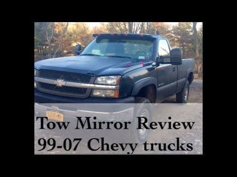 99-07 Chevy aftermarket tow mirror review