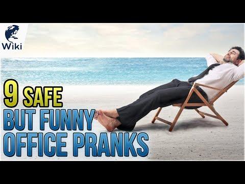 9 Safe But Funny Office Pranks