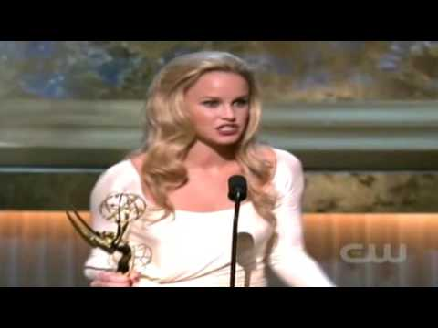 Julie Berman 2009 Emmy Win Video