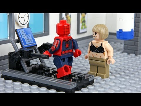 Lego Spider-man Gym Fail