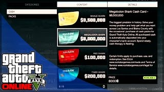 GTA 5 Online Money and Shark Cards for PC - What do You Think? (GTA 5 Gameplay)
