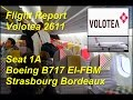 Download [FlightReport] Volotea V72611 Strasbourg Bordeaux Seat 1A Boeing 717 EI-FBM