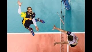Bruninho Rezende and  Earvin Ngapeth amazing Volleyball show!!