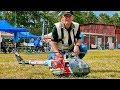 AMAZING RC BO-105 ELECTRIC SCALE MODEL HELICOPTER FLIGHT DEMONSTRATION