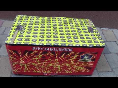 Фейерверк TB202 Gold Collection на 87 выстрелов