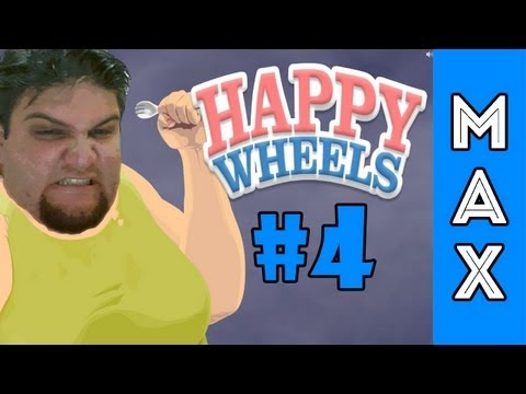 Happy Wheel #4 - Slender com Chiclete #OldUpload
