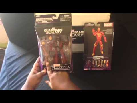 MARVEL'S GUARDIANS OF THE GALAXY LEGENDS INFINITE SERIES Action Figures Review