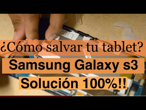 TABLET GALAXY  3 ?no prende y no carga?