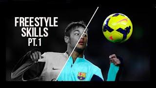 Neymar Jr ● Best Freestyle Skills - 2016 Pt.1  HD