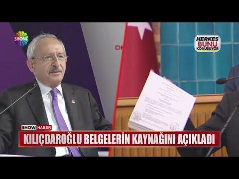 Kılıçdaroğlu belgelerin kaynağını açıkladı