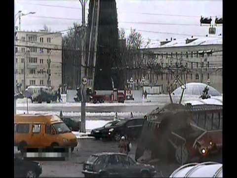 ДТП трамвай VS троллейбус