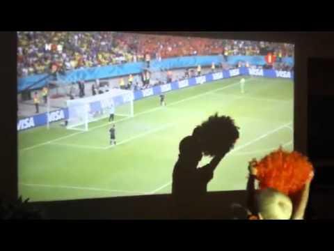 Tim Krul penalties Nederland Costa Rica WC 2014