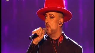 Legend King Boy George sings Legend Prince..r.i.p.. purple rain.