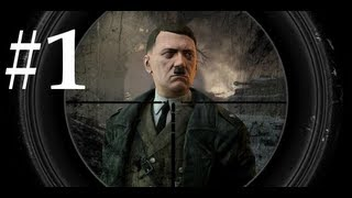 Sniper Elite V2 Walkthrough / Gameplay Part 1 - OpTicSSoH
